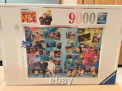 RAVENSBURGER Jigsaw Puzzle Despicable ME 3 Funny Minions 9000 PCS #17808