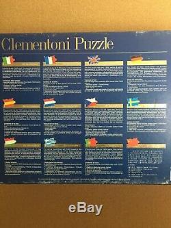 Rare Clementoni 13200 puzzle Annunciazione (Annunciation) by Leonardo da Vinci