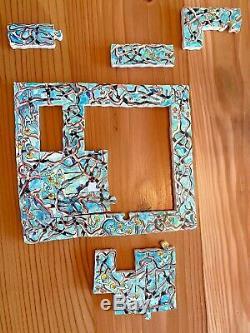 Rare & Retired Stave Puzzle TRICK Spooning Moonbills- 100 pcs 1996
