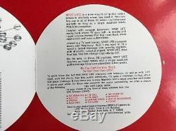 Rare! Vintage 1960 Spot Life Red Circular Round Springbok Jigsaw Puzzleexcel