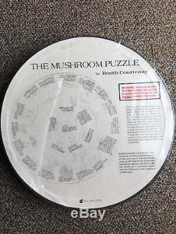 Rare Vintage 1968 Springbok Round The Mushroom Puzzle Never Opened