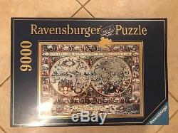 Rare Vintage Collectors High Quality 9000 Pieces Ravensburger Puzzle