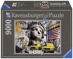 Ravensburger 17803 Metropole New York City Jigsaw Puzzle 9000 Piece 7+ Years New