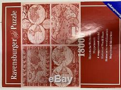 Ravensburger 18000 Piece Puzzle #178216 Historical World Maps