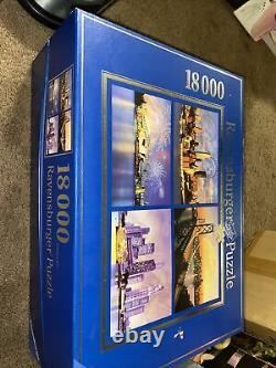 Ravensburger 18000 Piece Puzzle Skylines of the World Sealed Unused 2006