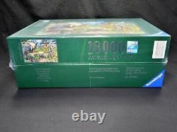 Ravensburger At The Waterhole 18000 Piece Jigsaw Puzzle Sealed Brand NEW