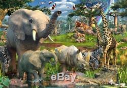 Ravensburger At The Waterhole 18000 Pieces Puzzle Multicolor / New in open Box