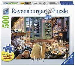 Ravensburger Cozy Retreat 500pcs Large Format Piece Jigsaw Puzzle 27 x 20