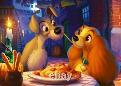 Ravensburger Disney Collector's Lady and The Tramp Jigsaw Puzzle 1000 Piece