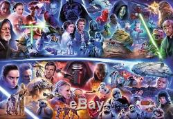 Ravensburger Disney Puzzle Star Wars Galactic Time Travel 18,000 Pcs #17827