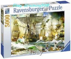 Ravensburger Jigsaw High Seas War 5000 Puzzles Adult Decompression SEALED RARE