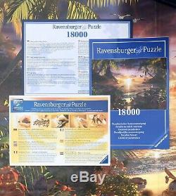 Ravensburger Paradise Sunset 18000 Piece Jigsaw Puzzle Complete in Box Grouped