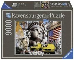 Ravensburger Puzzle9000 Teilemetropole New York Cityneu+ovp