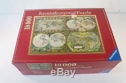 Ravensburger Puzzle 18000 Teile Historische Weltkarten 276 cm x 192 cm aus 2002