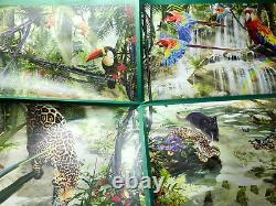Ravensburger Puzzle Tropical Impressions 18000 pcs RARE Jungle Animals withPoster