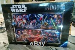 Ravensburger Star Wars Galactic Time Travel 18000 Piece Jigsaw Puzzle RARE NEW