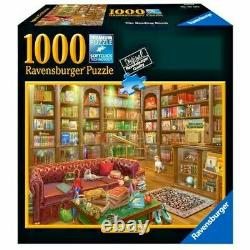 Ravensburger The Reading Room 1000 Piece Jigsaw Puzzle New Sealed