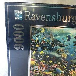 Ravensburger Underwater Paradise 9000 Piece Puzzle 2011 David Penfound No. 17807