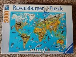Ravensburger puzzle 5000 piece Fascinating World discontinued