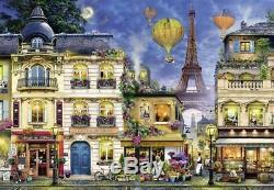 Ravensburgerpuzzle18000 Teileabendspaziergang Durch Parisovp