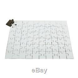 Rectangle Dye Sublimation Blank Jigsaw Puzzle Child Toy Heat Transfer 120pcs DIY