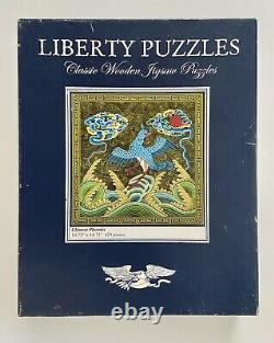 Retired Liberty Chinese Phoenix Asian Wooden Jigsaw Puzzle Complete 429 Pieces