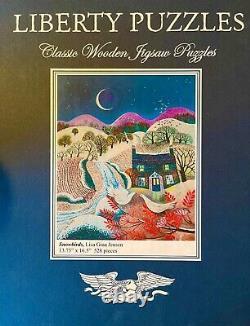SNOWBIRDS Liberty Classic Wooden Puzzle by Lisa Jensen