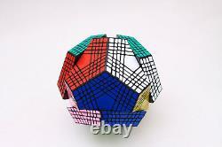 SS 9x9x9 Megaminx Petaminx Dodecahedron Twist Puzzle Magic Cube Intelligence Toy