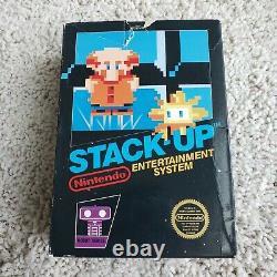 STACK UP NES ROB Big Box complete cib nintendo