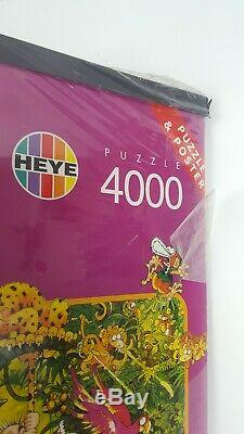 SUPER RARE! Heye Ryba Amazonas Puzzle 4000 Pieces Complete SEALED WITH POSTER