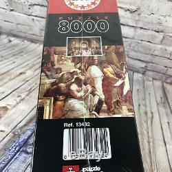 School of Athens Raphael 8000 Piece Puzzle New SEALED BY EDUCA 13432 192x136cm