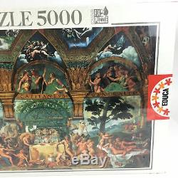 Sealed 5000 Piece Puzzle Educa Le nozze di Psiche e Cupido by Giulio Romano