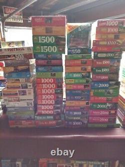 Sealed Jigsaw Puzzle Lot