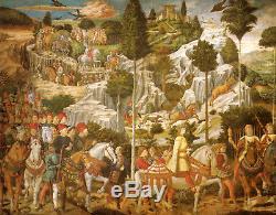 Sealed bag 3000 NEW PUZZLE Corteo dei Re Magi 3.000 pieces 90's EDUCA JIGSAW ART