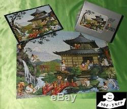Seltenes HEYE Puzzle FUJIYAMA J J LOUP 750 Teile 1974 in OVP + Poster komplett
