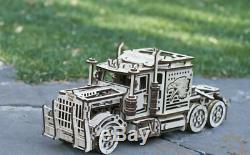 Set of 2 Models BIG RIG Truck + Petrol Tanker Mechanical Wood Trick Puzzle