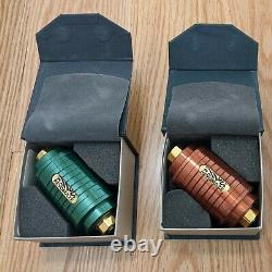 Set of 2 Revomaze V1s Green (Gold Plated) + Bronze (Gold Plated)
