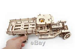 Set of 2 UGEARS Models UGM-11 + Additions to Truck 3D Mechanical Wooden Puzzle