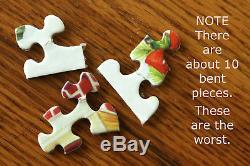 Springbok The Christmas House COMPLETE Jigsaw Puzzle 1000 pc Hallmark 5913 Vtg