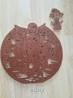 Stave 50 piece Tropical Punch hand crafted puzzle