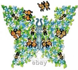 Stave Flutterby Wooden 130 Piece Jigsaw Puzzle