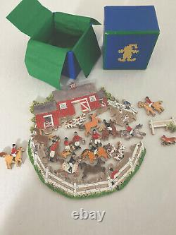 Stave Horse Puzzle, New / Excellent Condition, Signed And Dated