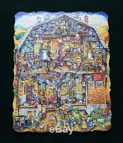 Stave Puzzle, Bell's Antique Barn, 475 pieces, Perfect Condition, 2017