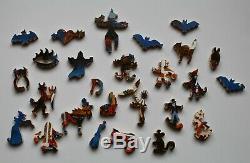 Stave Puzzle, Halloween Adventures, Mint Condition, 420 pieces, 2015