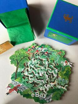 Stave Puzzle Outfoxed Again 82 pcs 2008 Wooden Jigsaw Puzzle Teaser