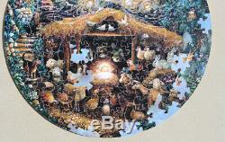 Stave Puzzle Silent Night 150 pieces Damaged, Read Description Carefully