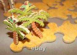 Stave Puzzle Treasure Island Limited Edition Very Rare. Read Description
