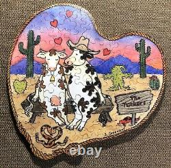 Stave Puzzle Udderly Romantic 2015 64 pieces In Box with Paperwork