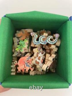 Stave Wooden Teaser Puzzle Peaceable Kingdom New