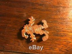 Stave wooden puzzle Aloha Mint! 1, 2 and 3 lightening bolt trick. 2002